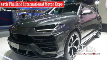 Lamborghini Urus | 35th Thailand International Motor Expo | Indian Autos Blog