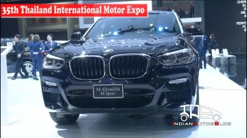 2018 BMW X4 | 35th Thailand International Motor Expo | Indian Autos Blog