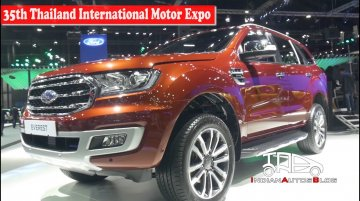 2019 Ford Everest (Endeavour) | 35th Thailand International Motor Expo | Indian Autos Blog