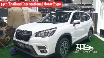 2019 Subaru Forester | 35th Thailand International Motor Expo | Indian Autos Blog