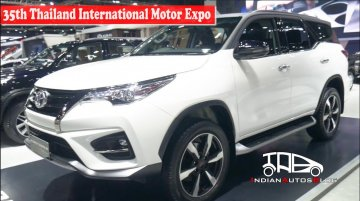 Toyota Fortuner TRD Sportivo | 35th Thailand International Motor Expo | Indian Autos Blog