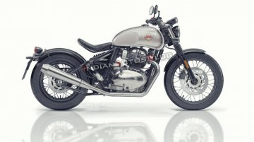 Royal Enfield Bobber 650 imagined - IAB Rendering