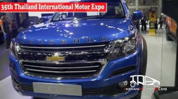 All-new Chevrolet Colorado | 35th Thailand International Motor Expo | Indian Autos Blog