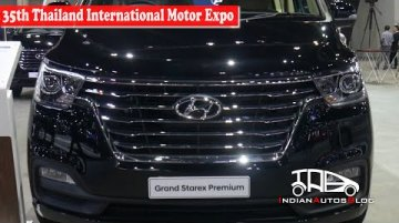 Hyundai Grand Starex Premium | 35th Thailand International Motor Expo | Indian Autos Blog