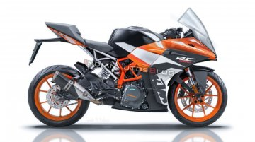 Next-gen 2019 KTM RC390 - Render, specs & features expectation