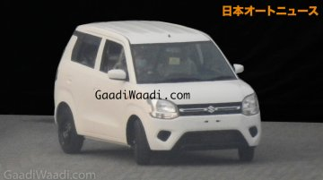 2019 Maruti Wagon R's exterior leaked ahead of launch next month