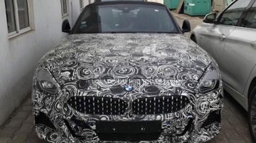 2019 BMW Z4 spotted in India with heavy camouflage