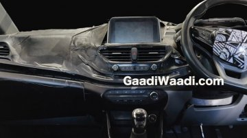 Tata 45X (Tata Aquilla) interior partially leaked