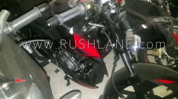 2019 Bajaj Pulsar 180 ABS spied at a dealership ahead of launch