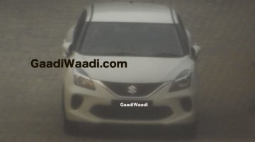 2019 Maruti Baleno (facelift) spied completely undisguised