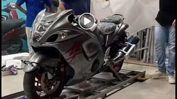 First 2019 Suzuki Hayabusa delivered in India