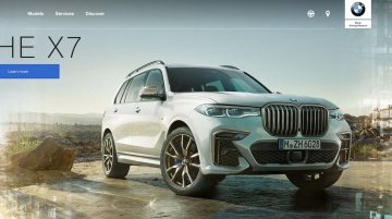 BMW X7 listed on Indian website, to be launched at the end of the month