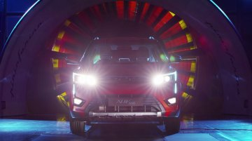 Mahindra XUV300 undergoes wind tunnel testing in Italy