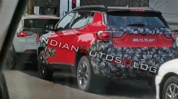 IAB reader spies Jeep Compass Trailhawk on test, to be launched in H1 2019 [Video]