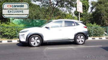 Hyundai Kona Electric continues testing on Indian roads