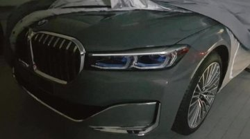 2019 BMW 7 Series (facelift) front-end leaked