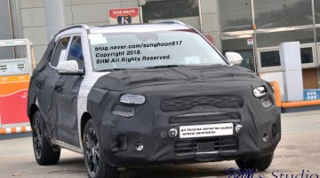 Kia SP2i (Hyundai Creta rival) spied in S. Korea, launching ahead of schedule