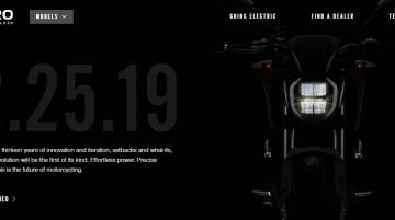 Zero Motorcycles SF/R teased ahead of 25 February debut