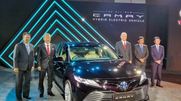 TKM receives 400+ bookings for the 2019 Toyota Camry Hybrid