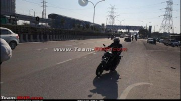 Yamaha MT-15 spied testing in India yet again
