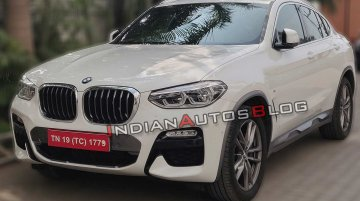BMW X4 spied in India sans camouflage, launch in coming months