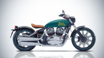 Production Royal Enfield Concept KX 838 - Render, Features & Launch date expectations