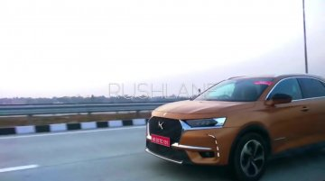DS 7 Crossback spied testing in India for the first time [Update]
