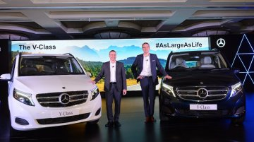 Mercedes V-Class launched in India, priced from INR 68.40 lakh