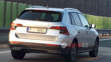 EU-spec Skoda Kamiq spied almost completely uncamouflaged in Czech Republic