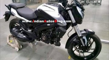 2019 Bajaj Dominar 400 white colour variant spied ahead of launch