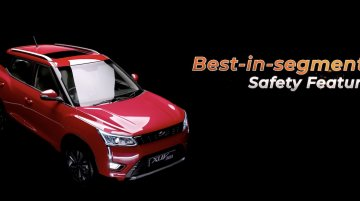 Mahindra XUV300's safety features highlighted in a video