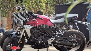 Honda CB300R spotted in India ahead of February 8 launch