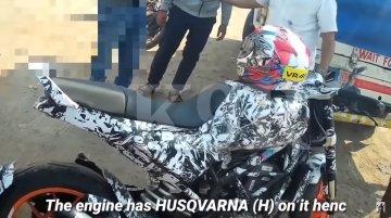 India-spec Husqvarna Vitpilen 401 caught testing on video [Update]