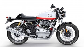 Fuel tank swap on the Royal Enfield Continental GT 650 - Yea or Nay?