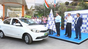 Tata Tigor EVs supplied to Capgemini India