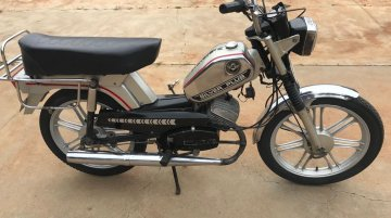 A pair of neatly restored Enfield Silver Plus mopeds land in our inbox
