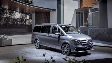 Mercedes V-Class facelift announced just a week after its Indian launch