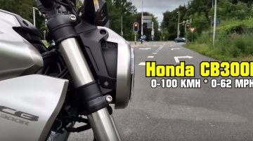 On-board footage reveals Honda CB300R's 0-60 km/h acceleration time [Video]
