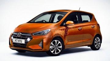 Euro-spec next-gen 2020 Hyundai i10 rendered