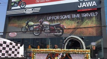 Classic Legends inaugurate Jawa dealership in Lucknow