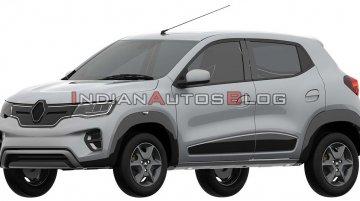 Renault Kwid EV (production Renault K-ZE) exterior design leaked