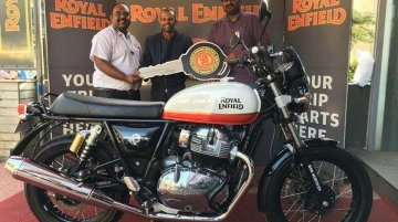 Royal Enfield Interceptor 650 Baker Express deliveries commence in India