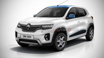 Renault Kwid EV - IAB Rendering