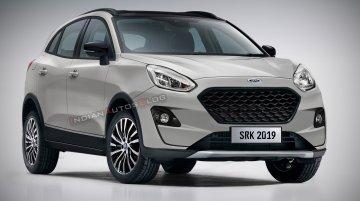 Ford Fiesta-based EcoSport successor - IAB Rendering