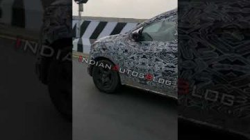 Renault RBC (Datsun GO+ rival) spotted while on Test