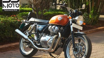 Royal Enfield Interceptor 650 gets India's first 2-into-1 exhaust
