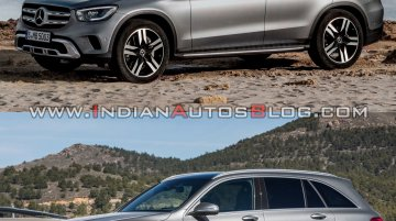 2019 Mercedes GLC vs. 2015 Mercedes GLC - Image Gallery