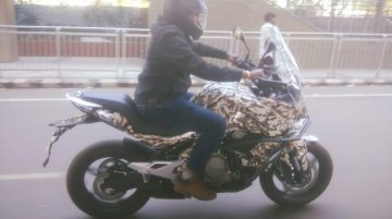 CFMoto 650MT spied testing in India for the first time