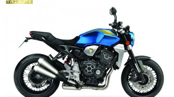 One-off Honda CB1000R Tribute to be unveiled at Fiera Roma; gifted to a lucky visitor