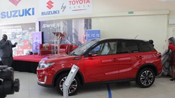 Suzuki models now sold at Toyota dealerships in Kenya